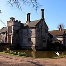 Baddesley Clinton in the spring sunshine by John Dalkin