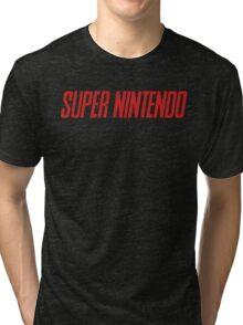 Super Nintendo Tri-blend T-Shirt