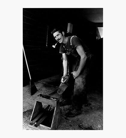 The Farrier Photographic Print