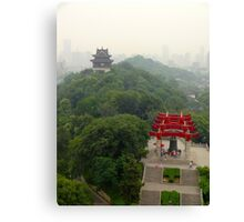 Temples near Beijing, China Canvas Print