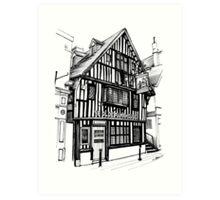 Ye Olde Pumphouse - Hastings Art Print