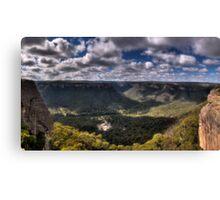 Wolgan Valley - HDR Panorama Canvas Print