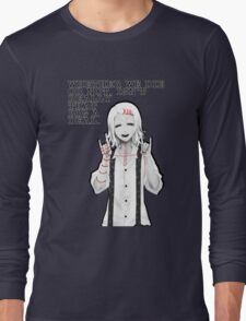 Death (Tokyo Ghoul) By Tokyo_Fool Long Sleeve T-Shirt