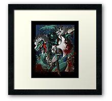 Chalice Dragonhide Framed Print