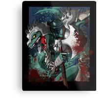 Chalice Dragonhide Metal Print