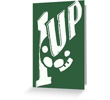 1up 7up Greeting Card