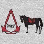 Assassin's Steed by Grainwavez