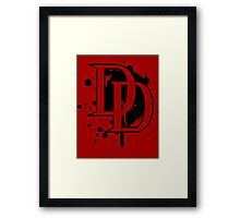 Marvel Daredevil Netflix 2015 shirt and more Framed Print