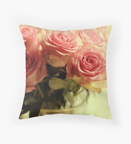 Perpetual Bloom Throw Pillow