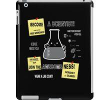 Become A Scientist iPad Case/Skin