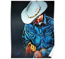 Chisholm...Portrait Of A Cowboy Poster