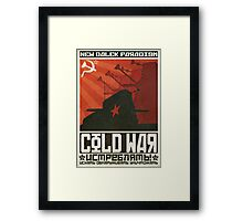 Cold Time War Framed Print