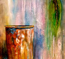 The Sap Bucket...A Still Life by ©Janis Zroback