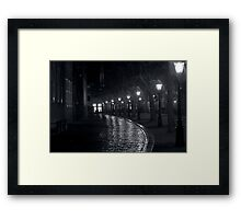 Rainy Night II Framed Print