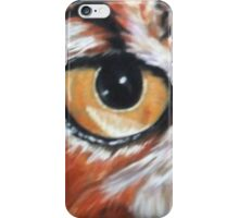 Eye-Catching Great Horned Owl iPhone Case/Skin