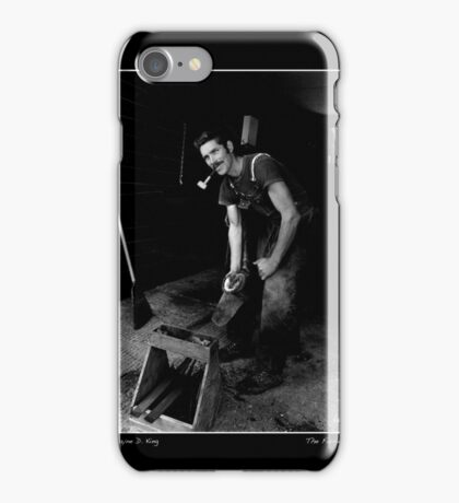 The Farrier Poster iPhone Case/Skin