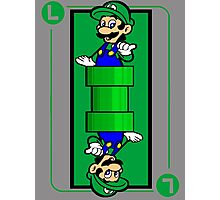 Plumber card Photographic Print