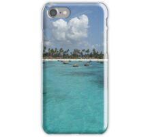 Turquoise sea iPhone Case/Skin
