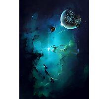 Cybertron nebulae Photographic Print