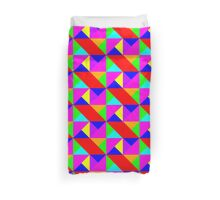 Triangles - Tiling pattern two Duvet Cover