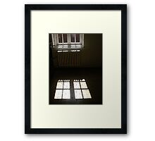 The window... Framed Print