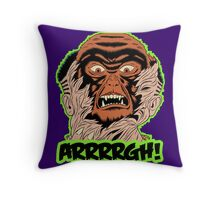 Monster Out Throw Pillow