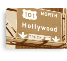Heading North on the 101 Canvas Print