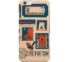 To the Zoo iPhone Case/Skin