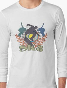 Skateboard T-Shirts Long Sleeve T-Shirt