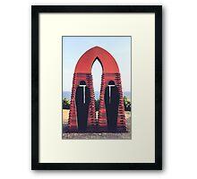 SCULPTURES BY THE SEA BONDI BEACH #5 Framed Print