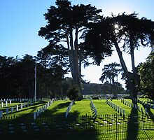 Military Cemetery at The Presidio by the2masks