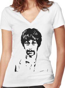 Moby Grape Skip Spence T-Shirt Women's Fitted V-Neck T-Shirt