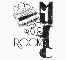 80's Music Rock's by Vitalitee