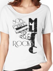 80's Music Rock's Women's Relaxed Fit T-Shirt