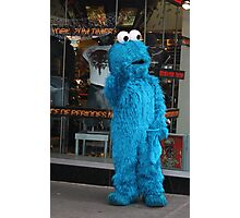 COOKIE MONSTER HITS BROADWAY Photographic Print