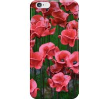 Ceramic Poppies iPhone Case/Skin