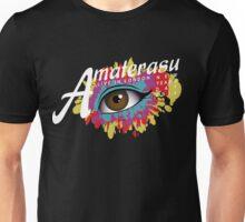 Amaterasu (white text) Unisex T-Shirt
