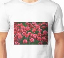 Ceramic Poppies Unisex T-Shirt