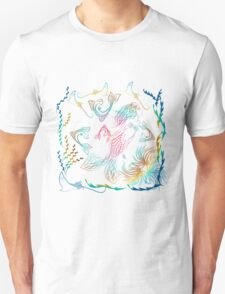 Mermaid into the Deep Ocean T-Shirt