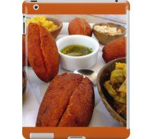 Acarajé, Salvador, Brazil (Brasil) iPad Case/Skin