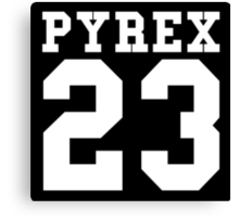 Pyrex 23 Canvas Print