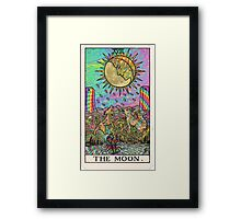 Psychadelic Tarot- The moon Framed Print