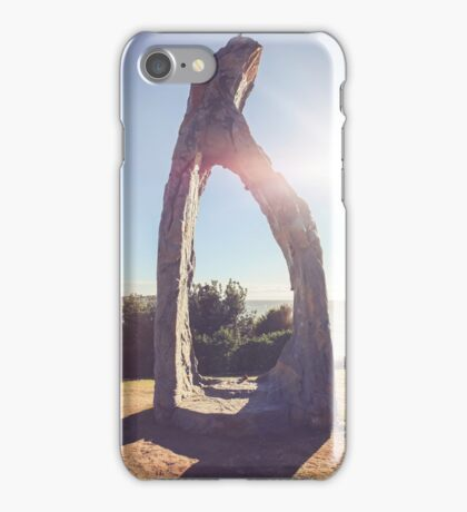 SCULPTURES BY THE SEA BONDI BEACH #9 iPhone Case/Skin