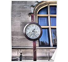 Biltmore House Clock Poster