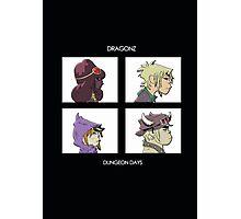Dragonz - Dungeon Days Photographic Print