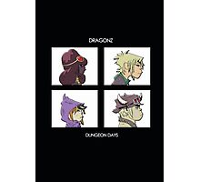 Dragonz - Dungeon Days Photographic Print