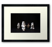Trooper Chase Framed Print