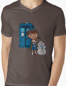 Doc McWhoffins Mens V-Neck T-Shirt
