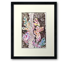 Crystal Cave  Framed Print
