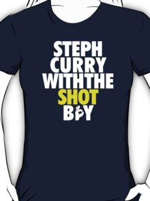 Steph Curry With The Shot Boy T-Shirt